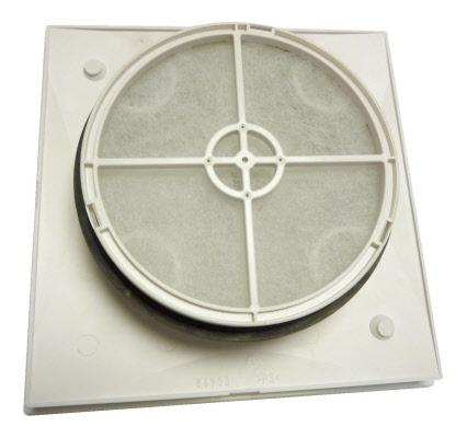 filtre bouche extraction vmc helios 125 bioklimax. Black Bedroom Furniture Sets. Home Design Ideas