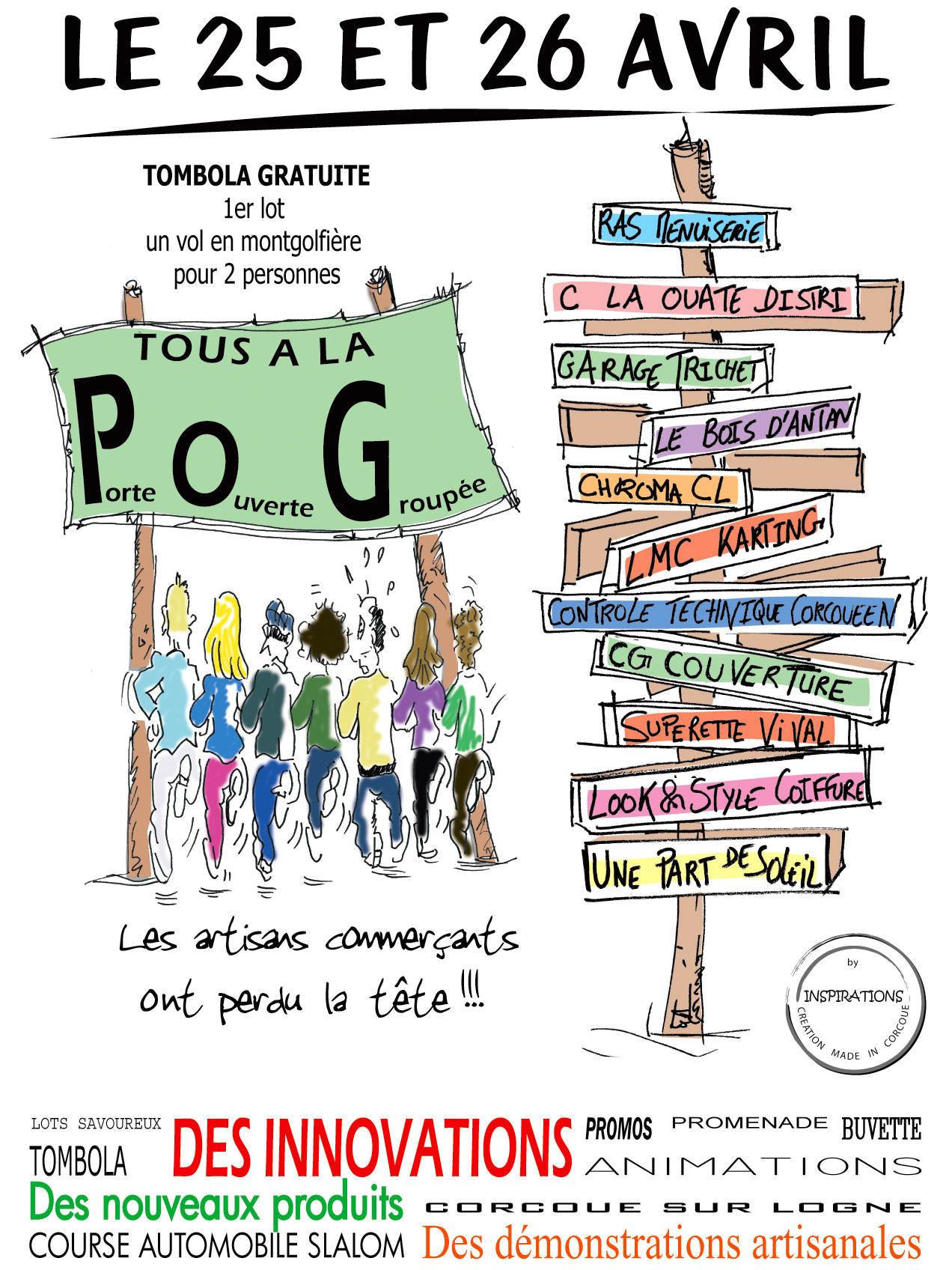 Portes Ouvertes Claouate Distri à Corcoué les 25 et 26 avril 2015