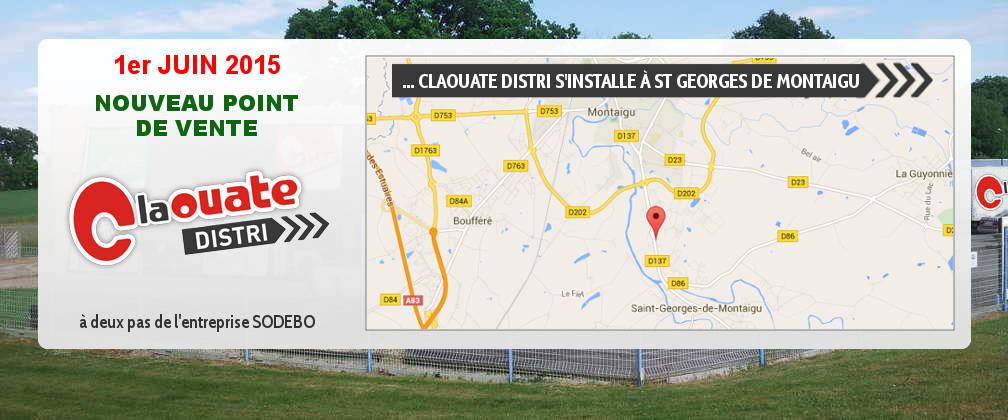 C la Ouate Distri quitte les Brouzils pour s'installer à Saint Georges de Montaigu