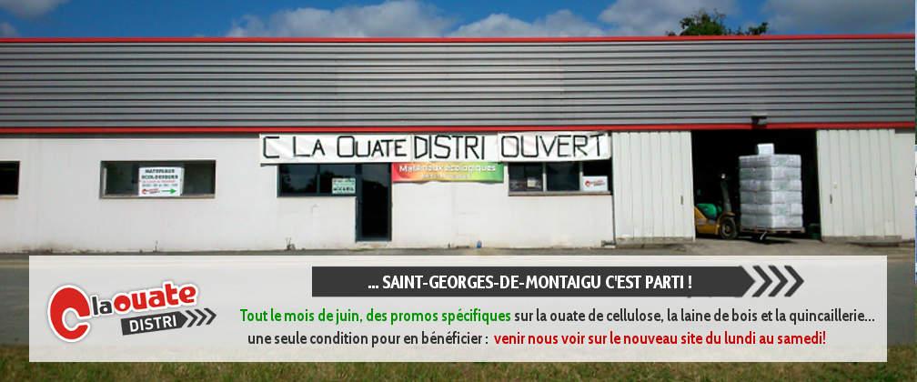 Votre magasin de matériaux à Saint-Georges-de-Montaigu est ouvert !