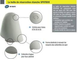 Cloche de protection spotbox