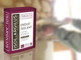 Eduit isolant écologique Isol Argilus